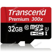 Flash накопитель Trancend Micro SD 32 Гб 10 класс