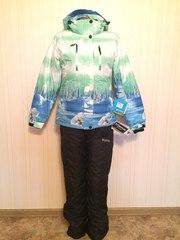 Женские зимние мембранные куртки, комплекты,  горнолыжные костюмы для пр
