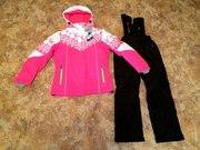 Теплые зимние мембранные комплекты,  костюмы для мальчиков и девочек