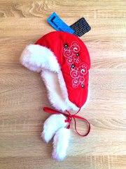 Теплые зимние финские шапки ушанки для девочек и мальчиков Lummie