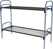 Кровати металлические для казарм,  кровати трёхъярусные для рабочих.