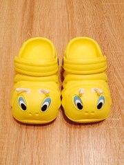 Яркие сильные детские кроксы crocs сабо
