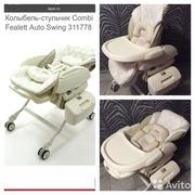 Колыбель-стульчик Combi Fealett auto Swing 311778
