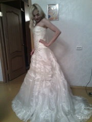 свадебное платье 42-44разм