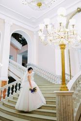 Свадебное платье.Уфа.Цвет пудра.